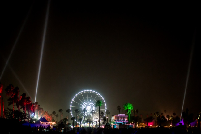 Coachella By Night