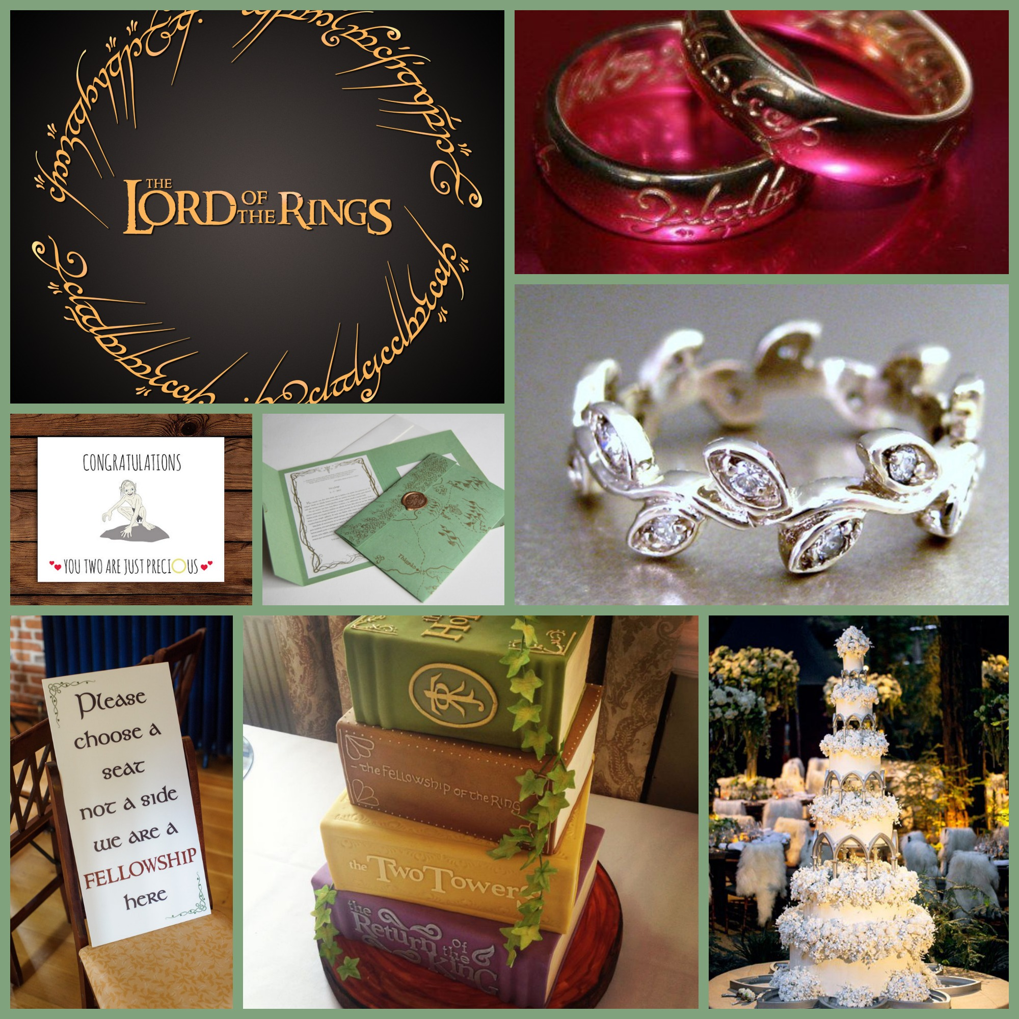 Lotr Wedding Theme Choice Image Wedding Decoration Ideas