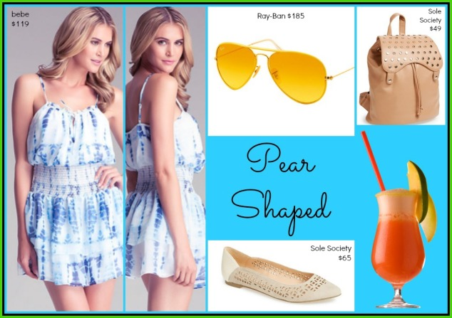 pear shaped collage